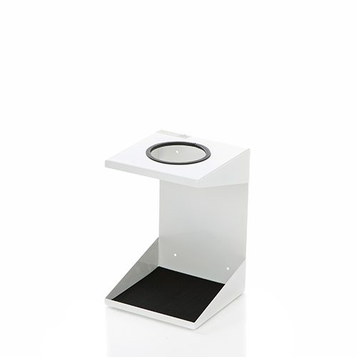 WM1 White - wall mounted holder for 1 small cylinder (102mm)